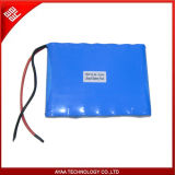 Rechargeable 22.4V/6.4ah LiFePO4 Battery Pack