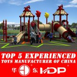 New Design for 20-35 Kids Outdoor Kids Playground Equipment Plastic Rotational Mold Plastic Playground