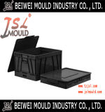 Euro Type Plastic Storage Crate Mould with Lid
