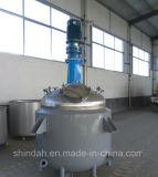 Ss 500L Jacket Reaction Kettle Reactor with Factory Price