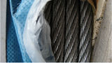 2017 Hot Sale Black Color Ungal 6X19s+FC Wire Rope with Good Packing and Good Quality