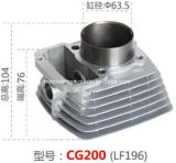Motorcycle Accessory Motorcycle Cylinder for Cg200