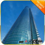 3-19mm Top Quality Flat Bent Curved Clear Tinted Reflective Lowe Float Tempered Laminated Insulating Building Glass