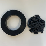 Cheap Dark-Grey 4.7cmx50m (100 Clips) Hard PVC Strip Screen Fence