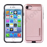 2 in 1 Hybrid TPU and PC Phone Case Covers for iPhone 7