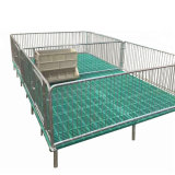Pig Farm Cast Iron Farrowing Crate Pen Cheap Gestation Crates for Sale Farming Equipment