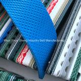 Custom Sky Blue PVC Conveyor Belt for Footwear Factory