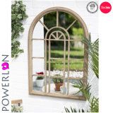 Metal Arch Mirror Window Mirror for Outdoor Deceration