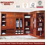 Modern Luxury 4 Door Wood Bedroom Wardrobe (GSP9-005)