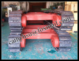 15 Ton Steel Track Undercarriage with Rubber Pads