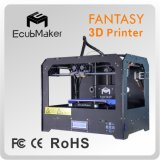 Ecubmaker Professional Stable 3D Printer Low Price 3D Printing Plastic ABS PLA
