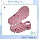 EVA Pink Women Clogs, Breathable Slide Sandals Clogs