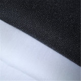 Garment Twill Weave Woven Fusible Interlining Fabric for Lady's Wear