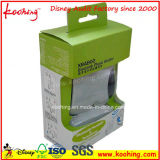 Custom Printed Cardboard Advertising Packaging Box with Die Cut Handle