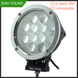 60W LED Working Light 5100lm for Trucks Working 7 Inch Car 12V