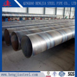 SSAW Weld Black Steel Pipe Used as Construction Material