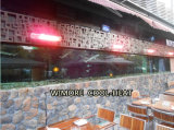 Infrared Heater & Outdoor Heater in Open-Space Coffee Shops