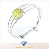 High Quality 925 Sterling Silver Open Bangle Price Fashion Jewelry Bangle (G41270) Chinese Factory