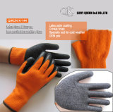 K-144 7 Gauges Loop Acrylic Crinkle Latex Working Safety Gloves