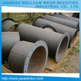 Wear Resistant Chromium Carbide Steel Pipe and Alloy 6 + 4 mm Thickness Pipe