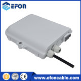 Waterproof FTTH Fiber Optic Disturition Box 8 Port Splitter Box with Sc/APC Connector