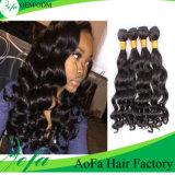 No Chemical Health 7A Grade Human Hair Extention Wholesale Hair