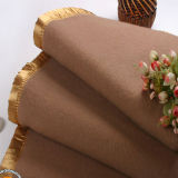 Natural Softness Wool Blanket for Hotel / Home (DPF10750)