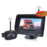 "4CH Wireless Car Rearview Camera Kit with 7"" Monitor and CCD Camera"