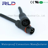 2pins 15A Waterproof Connector for LED Screen Power Cable
