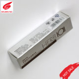 Custom Sliver Stamping Surface Toothpaste Ointment Printing Paper Carton Box