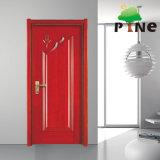 Hot Sell Soundproof Veneer Painting MDF Board Swing Wooden Door Price