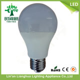 A60 9W E27 PC Cover LED Bulb Light