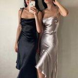 Evening Dress Casual Irregular Suspender Dress