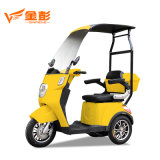 3 Three Wheel Adult 3 Wheel Electric Passenger Bicycle 60V500W China for Handicapped Disabled Scooter Price with Passenger Seat