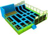 Cheap Foam Blocks Kids Fitness Bungee Exercise Indoor Jumping Trampoline of Amusement Park