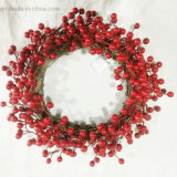 Christmas New Design Wreath for Holiday Wedding Party Decoration Supplies Hook Ornament Craft Gifts