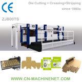 Zj800ts Automatic Label/Cardboard/Paperboard/Corrugated Paper Flat Bed Die Cutter Manufacturer