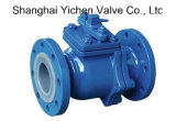 Manual Operator PFA Lined Ball Valve
