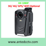 HD 1080P Body Worn Police Camera Recorder Optional with 3G 4G GPS WiFi
