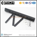 15 Inch Black Keymod Ar15 Picatinny Weaver Rail Mount Handguard with Steel Barrel Nut / /3 PCS 13 Slots Rail Sections/Outdoor Hunting Accessory Ar15&M16 20mm