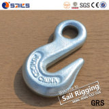 Carbon Steel Forged Eye Grab Hook H-323 for Lashing Chain