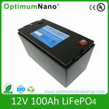 12V 100ah Lifepi4 DC Solar Battery