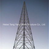 Galvanized Steel Lattice Telecom Triangular Atenna Tower