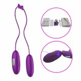 USB Rechargeable Vibrating Love Eggs Sex Toy for Women