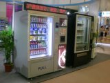 Combo Vending Machine/Coffee/Cold Beverage/Chips/Soda (LV-X01)