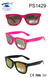 Fashion Popular Cute Colorful Kid Plastic Sunglasses (PS1429)