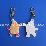 3D Sheep Keyring Custom Sheep Shaped Key Ring