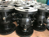Wcb Carbon Steel Mounting Pad Flanged Ball Valve