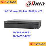 Dahua NVR4816-4ks2 16channel 2u 4K H. 265 Network Video Recorder Surveillance