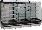 Commercial Refrigerator Multi-Deck at Supper Market (warmer)